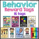 Reward Tags for Behaviors