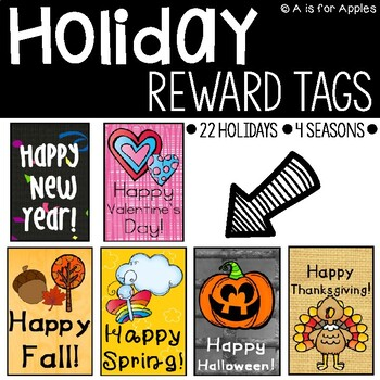 Reward Tags for Holidays
