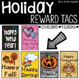Reward Tags for Holidays