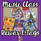 Reward Tags for Music Class