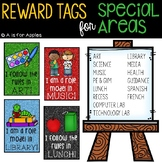 Reward Tags for Special Areas