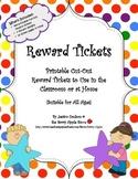 Reward Tickets: 448 Printable Cut-Out  Reward Tickets for