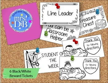 CLIP ART Reward Tickets