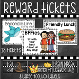 """Reward Tickets and Large """"Teacher Toolbox"""" Labels"""