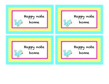 Reward Tickets for Happy Note