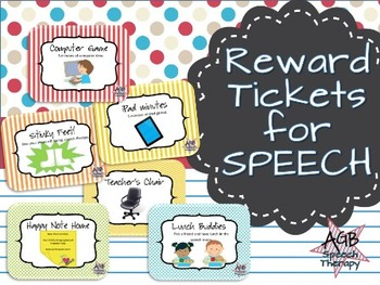Reward Tickets for Speech