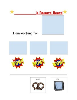 Reward Token Board