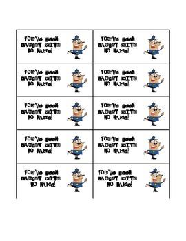 Reward and Behavior Cards