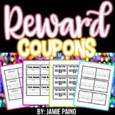 Reward and Incentive Coupons