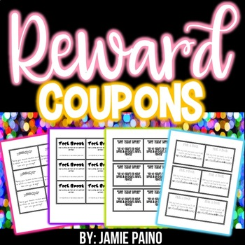 Reward and Incentive Coupons