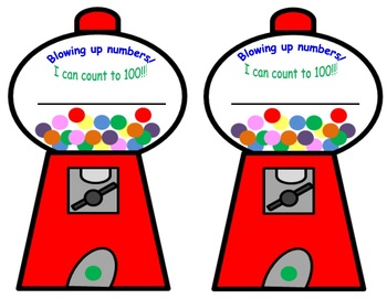Printable Reward certificate and stickers for counting to 100