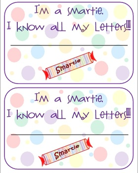 Printable Reward certificate and stickers for identifying letters