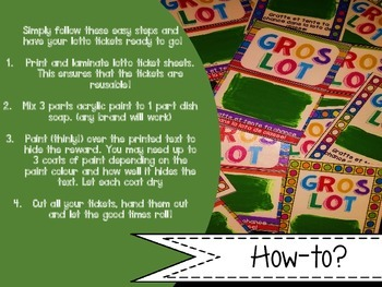 Reward coupons - récompenses