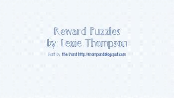 Reward puzzles