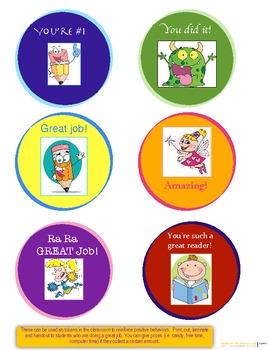 Reward tokens for good behavior