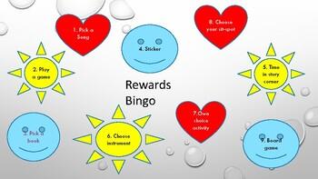 Rewards Bingo
