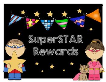 Rewards Chart Posters/Reward Coupons