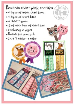 Rewards Charts and Activities for children with behavioural issues