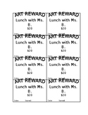 Rewards Coupons