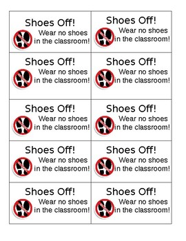 Rewards Coupons for Classroom Management