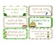 Rewards Coupons for the classroom- Camping theme