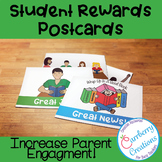 Postcard Templates for Student Rewards