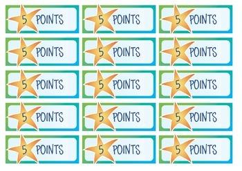 Rewards Token 5 Points