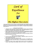 Rewards and Incentives for Classroom Management: Cards of