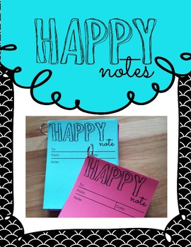 Rewards and Recognition - Happy notes