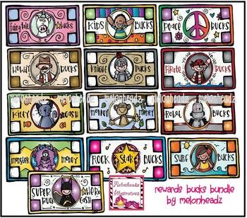 Rewards bucks bundle by melonheadz