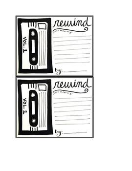 Rewind Memory Card
