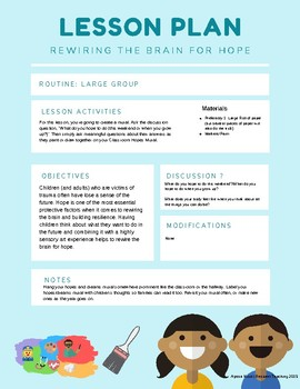 Rewiring the Brain for Resilience: 10 Lesson Plans for Pre-K through 2nd Grade