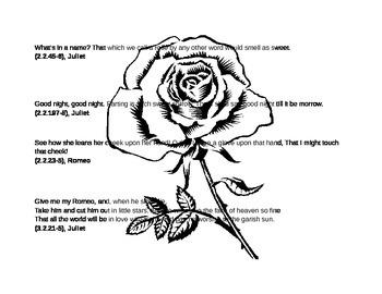 Rewrite Shakespeasre: Romeo and Juliet