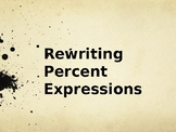Rewriting Percent Expressions