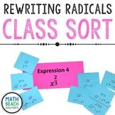 Rewriting Radicals Class Sort