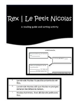 Rex | Le Petit Nicolas | Comprehension Activities