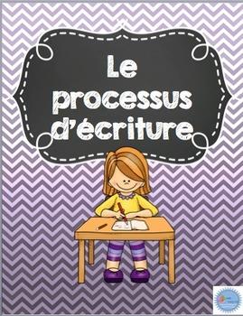 Référentiel du processus d'écriture