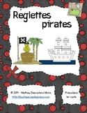 Réglettes pirates (atelier)