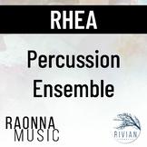Rhea - Percussion Ensemble #