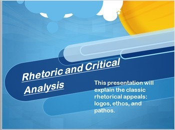 Essay Writing, Rhetoric, Debate, Persuasion, & Argument: PowerPoint Presentation
