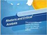 Essay Writing, Rhetoric, Debate, Persuasion, & Argument: PowerPoint Presentation