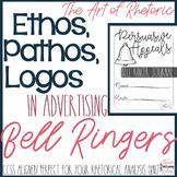 Ethos, Pathos, Logos Bell Ringer Activities!
