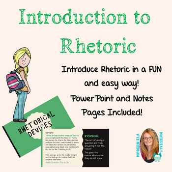 Rhetoric Introduction with Video Examples