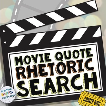Rhetoric Review -- Movie Quote Activity