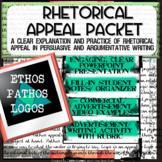 Rhetoric / Rhetorical Appeal Writing: Ethos, Pathos, Logos