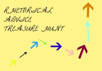 Rhetoric Scenarios II: Rhetorical Advice Treasure Hunt