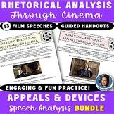 Rhetoric Through Cinema Bundle: Engaging SOAPSTone, Appeals, & Devices Analysis