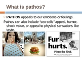 Rhetoric in Advertising: Ethos, Pathos, & Logos