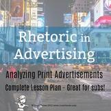 Rhetoric in Advertising Lesson Plan