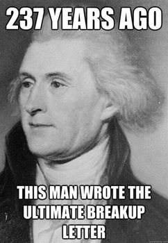 Rhetoric in The Declaration of Independence